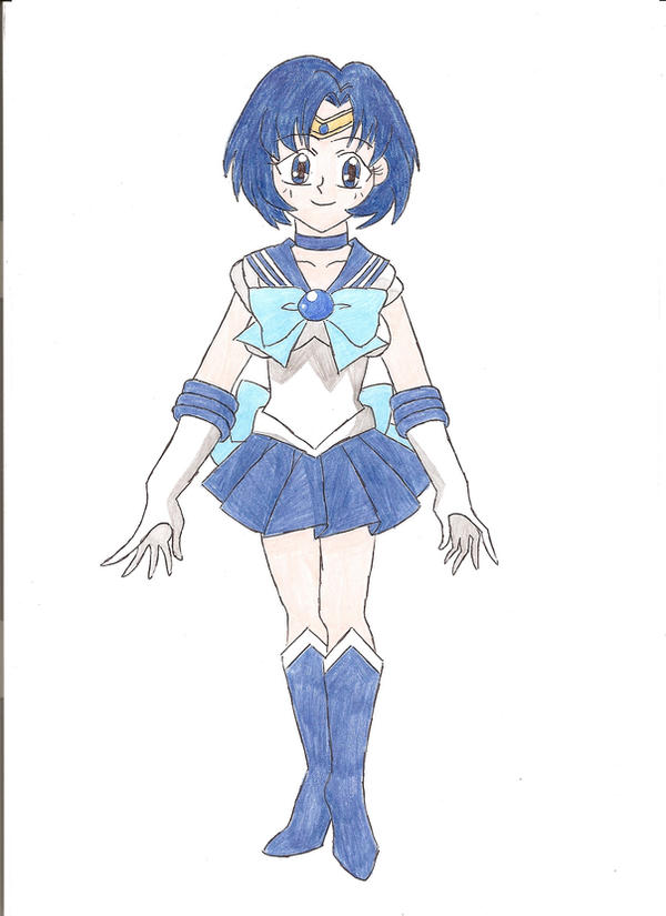 Sailor Mercury by animequeen20012003