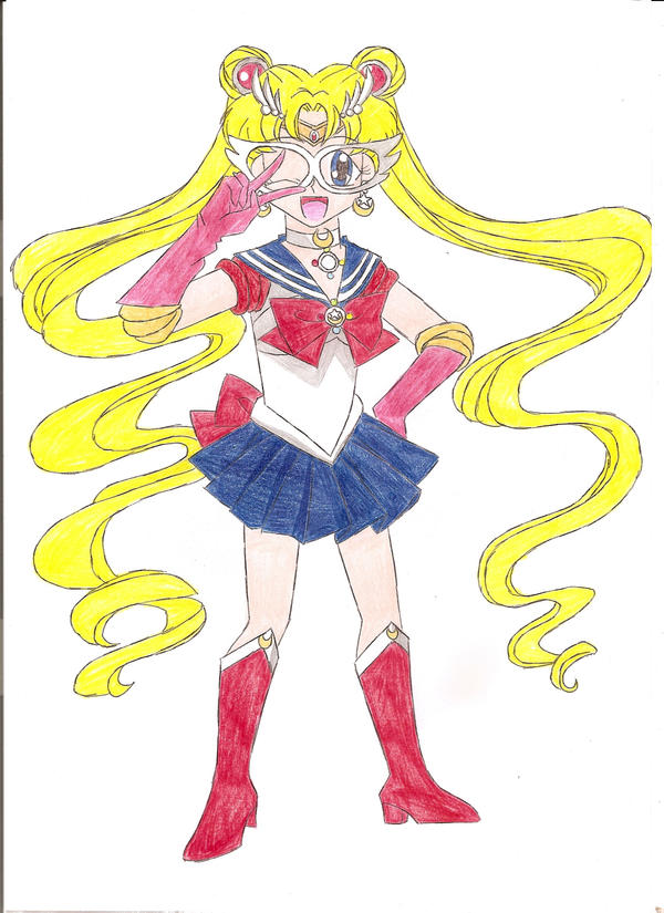 Pretty Soldier Sailor Moon by animequeen20012003