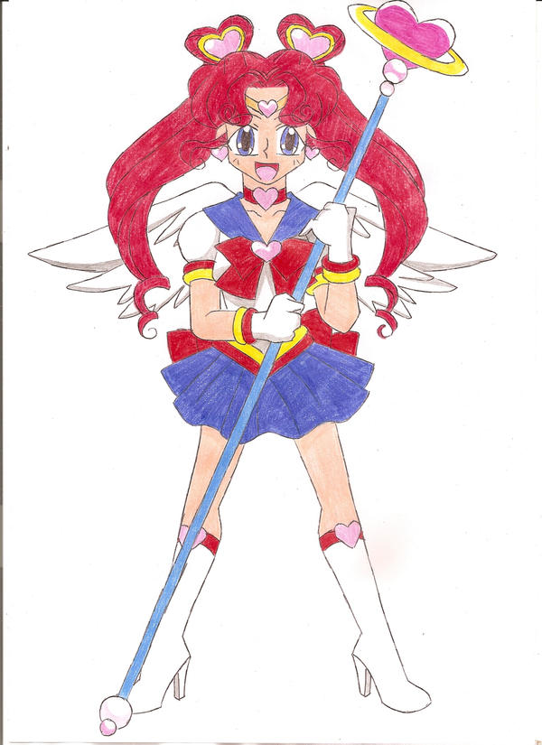 Sailor Chibi Chibi Moon by animequeen20012003