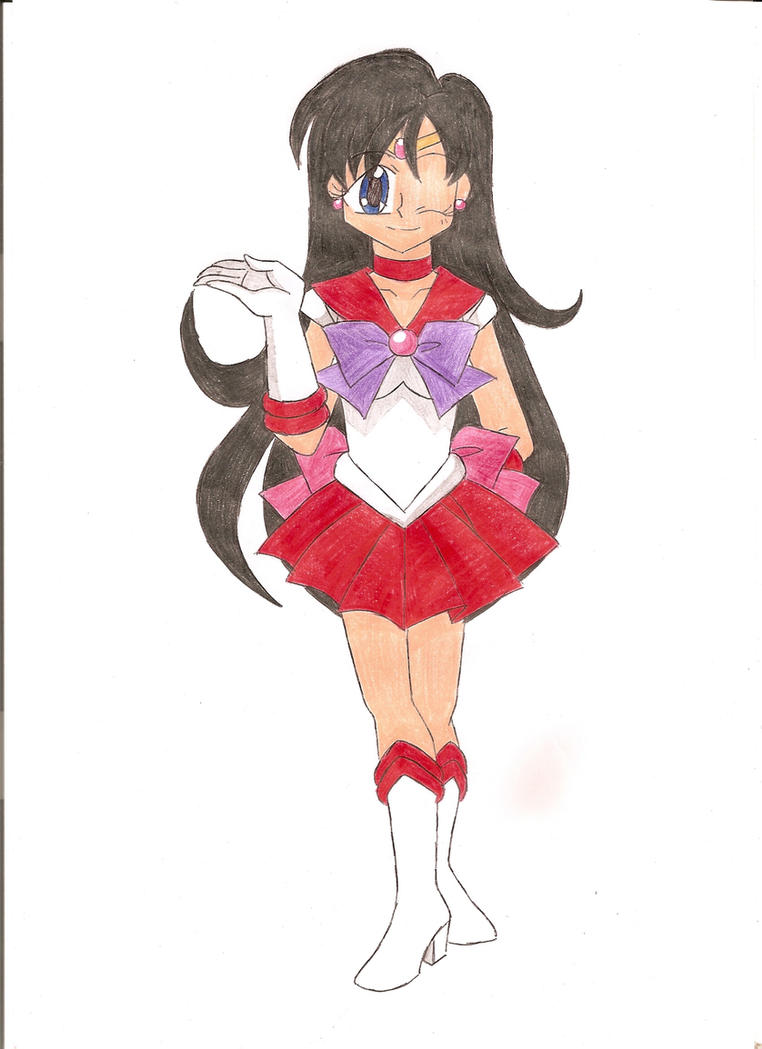 Parallel Sailor Mars by animequeen20012003