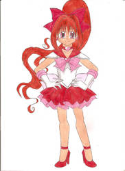 Sailor Blossom by animequeen20012003