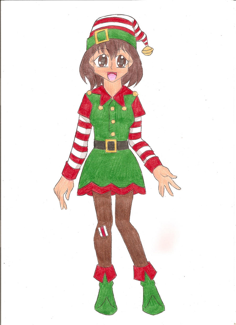 Santa's helper by animequeen20012003