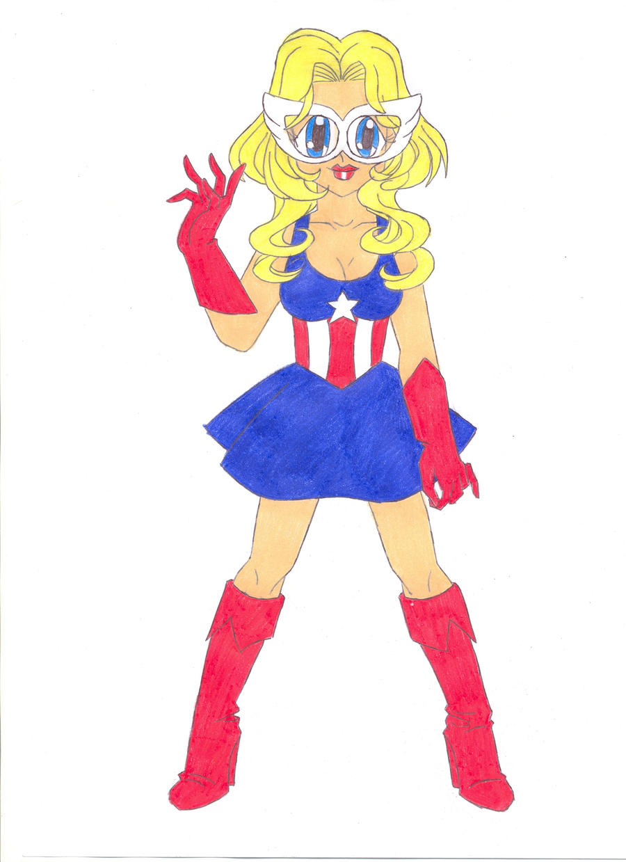 Lady America by animequeen20012003