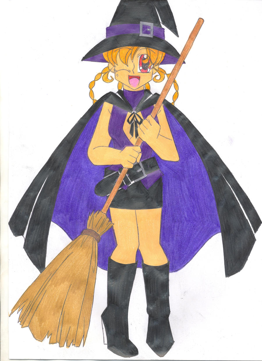 Contest: Halloween Witch by animequeen20012003