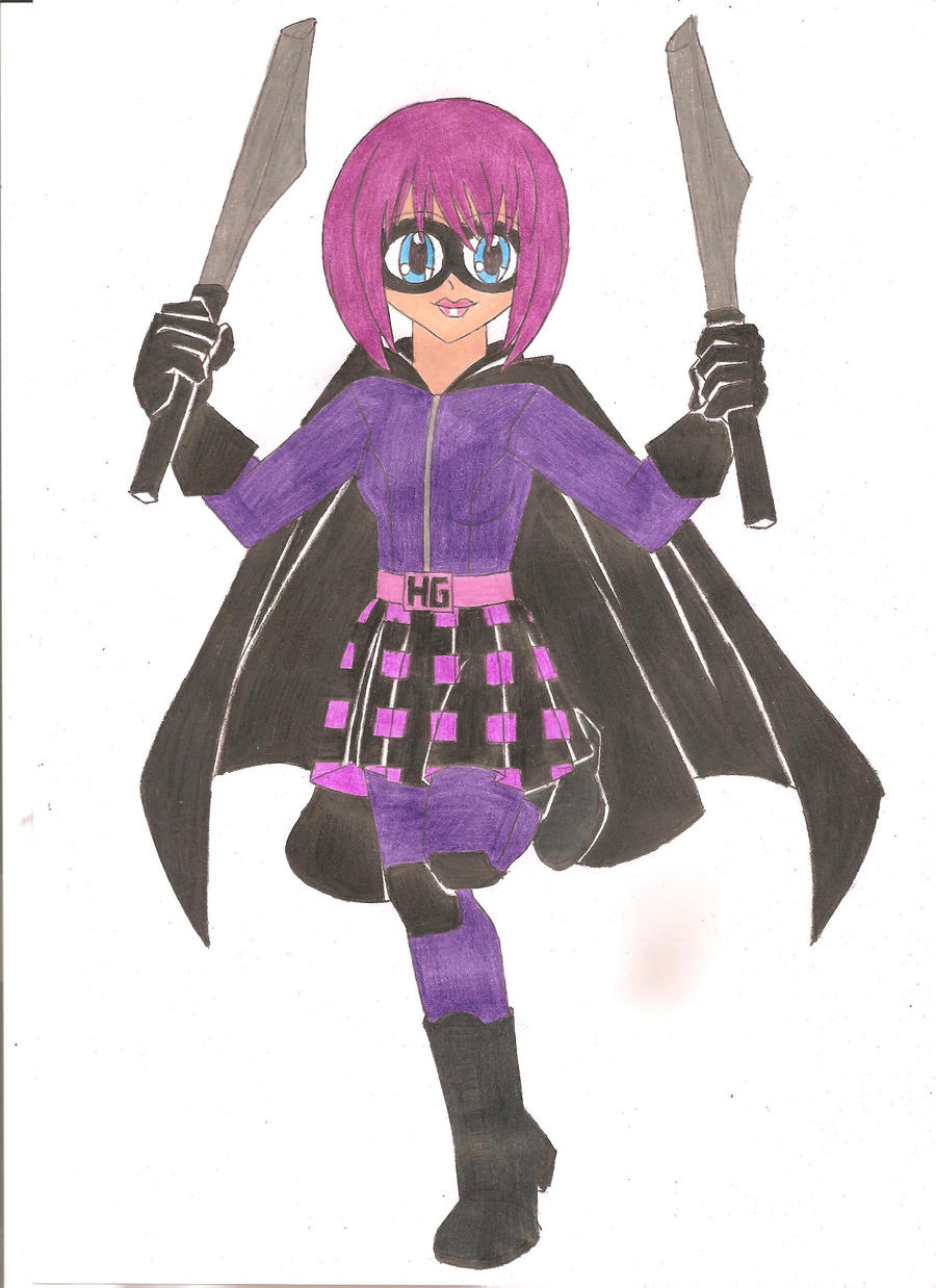 Hit-Girl by animequeen20012003