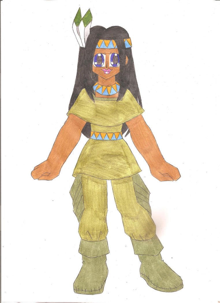 Thanksgiving Native American by animequeen20012003