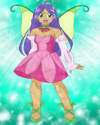 Flora by animequeen20012003