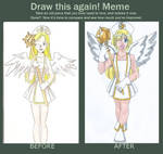 Draw This Again: Celestia by animequeen20012003