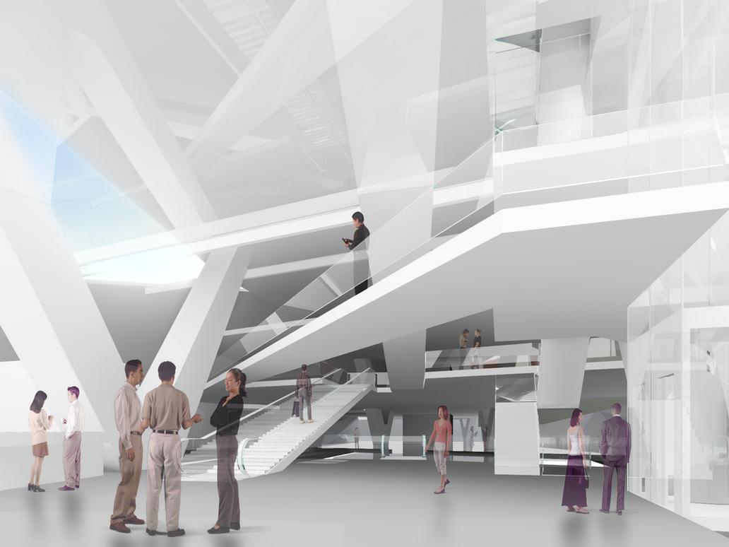 Exceptional Museum Interior By Dashozli ...