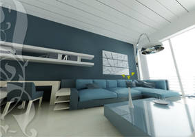 flat interior by dashozli