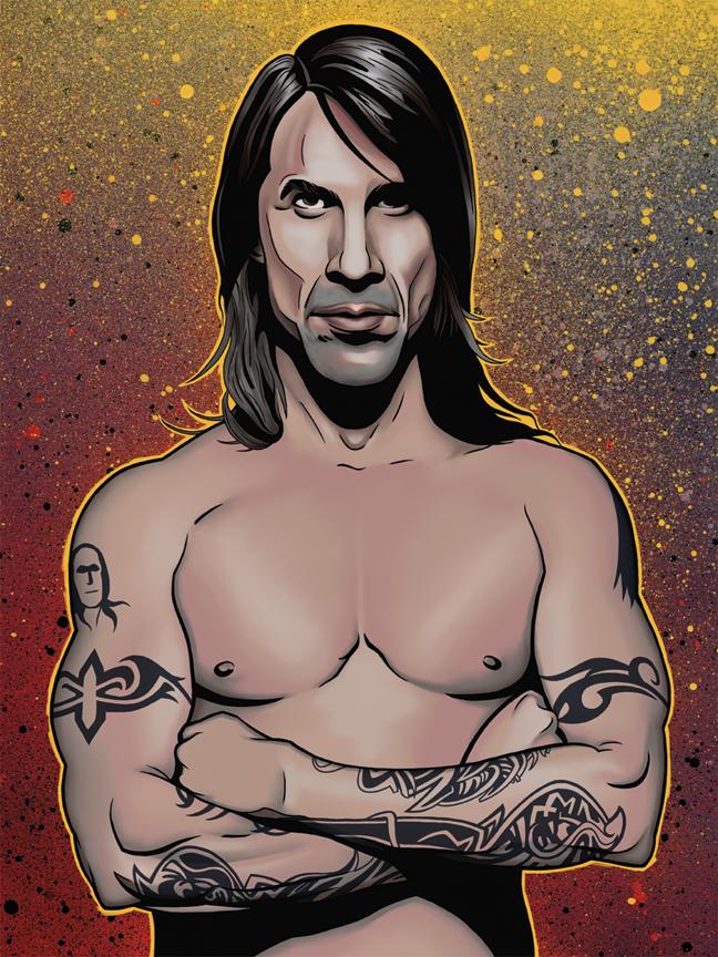 Anthony Kiedis by dhil36