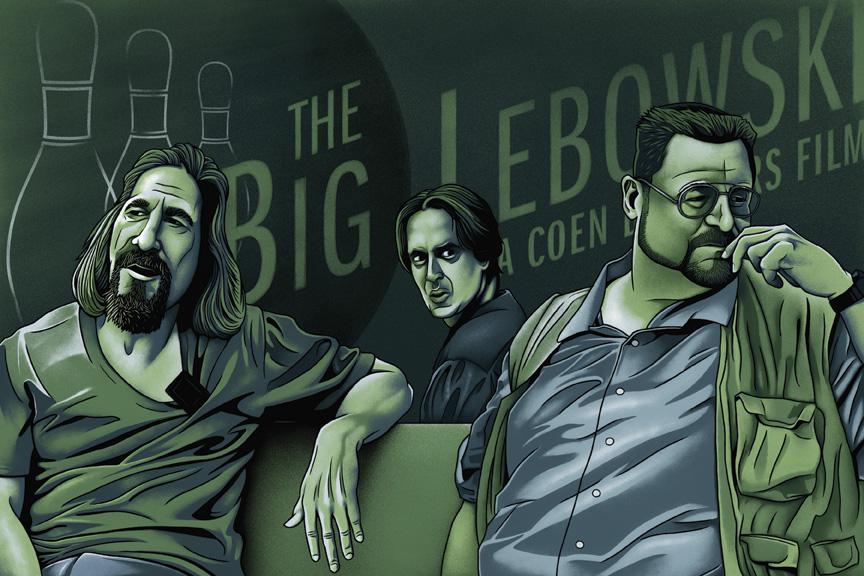 big lebowski fan art