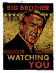 George Bush is Watching You