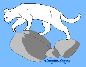 Free Cat base- MS Paint by Vampire-dragon