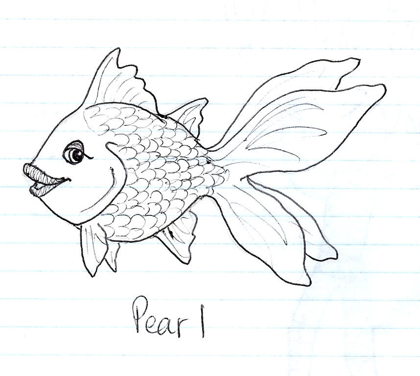 Line Drawing Nature : Old fish drawing by abundant nature on deviantart