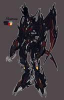 Predacon OC: Nightclaw by Mecha-Vision