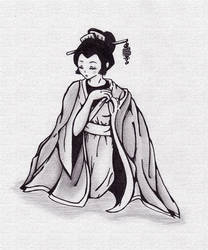 Geisha by ashina49
