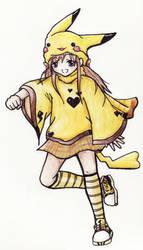 pikachu by ashina49