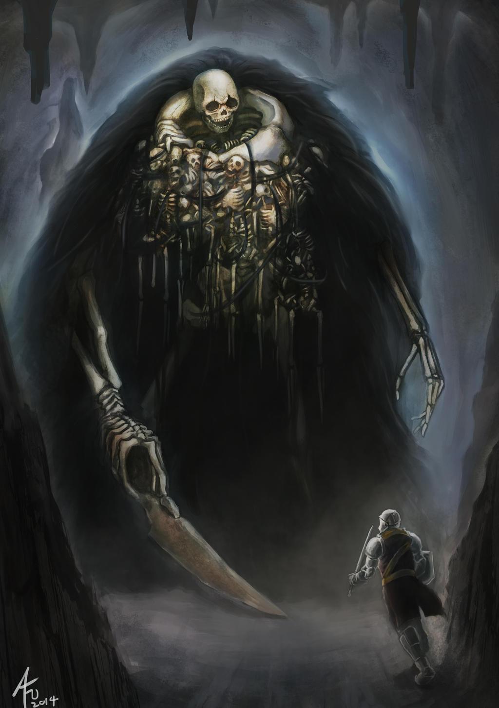 30 Best Pieces of Dark Souls Fan Art by madizzlee on ...