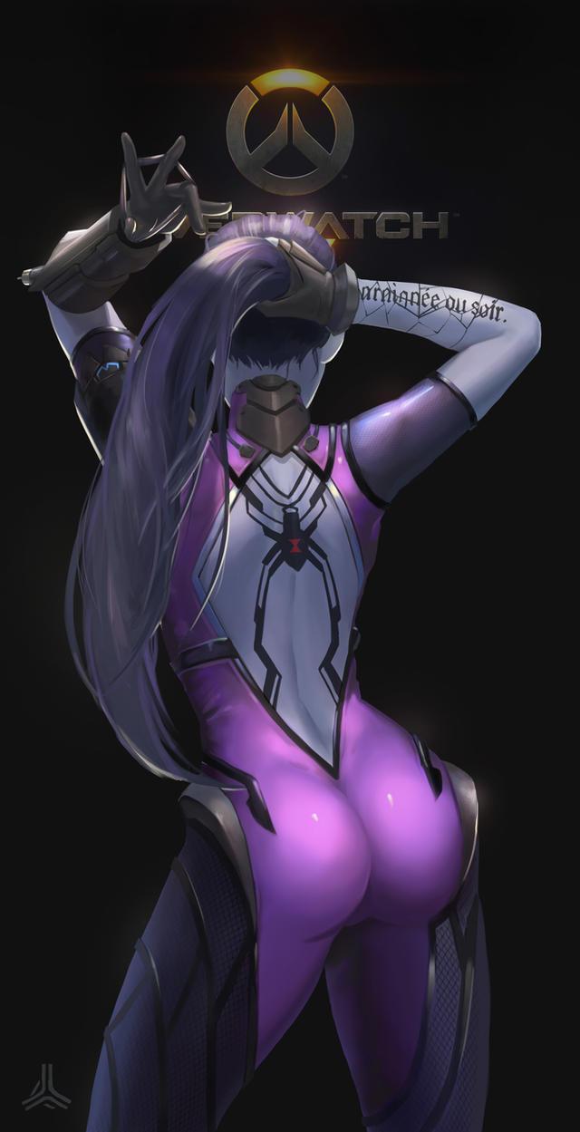 Overwatch sombra x reaper - 3 9