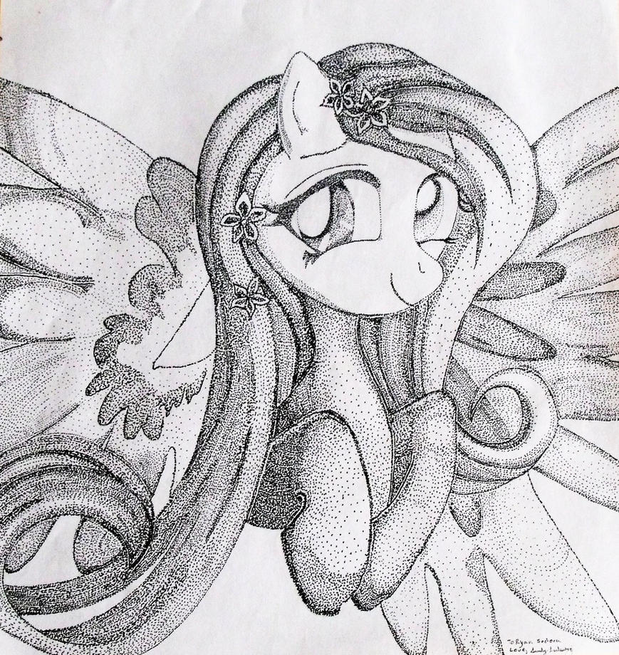 Fluttershy: My Little Pony by Darkfey311