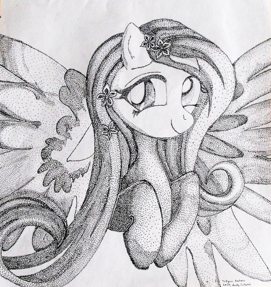 Fluttershy: My Little Pony by Darkfey311
