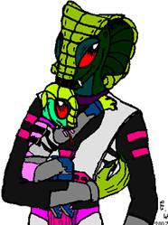 Viper and Child by Cipangolino