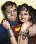 Cary Grant Sophia Loren - Superman Wonder Woman