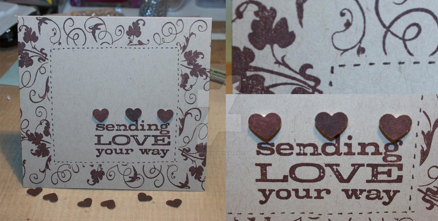 Card: Sending Love Your Way by kendravixie