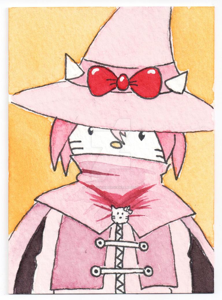 Hello Kitty Wizardmon by kendravixie