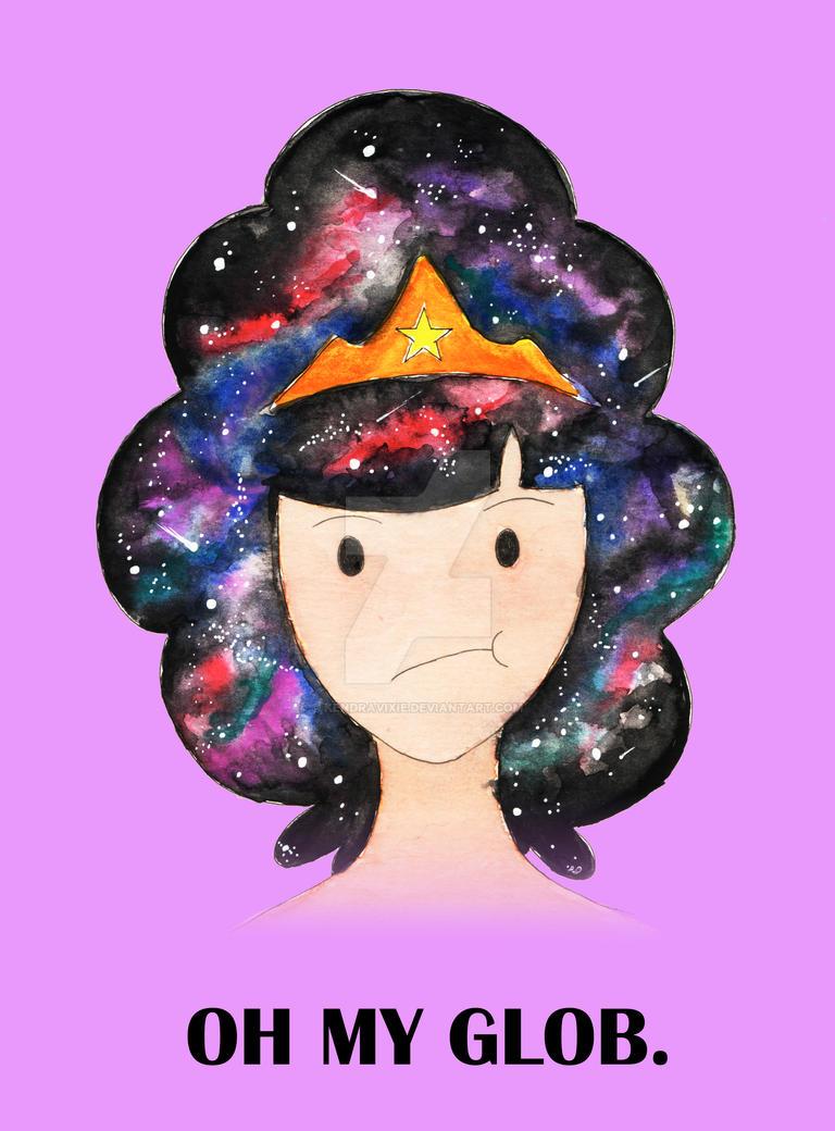 Lumpy Space Princess - OH MY GLOB by kendravixie