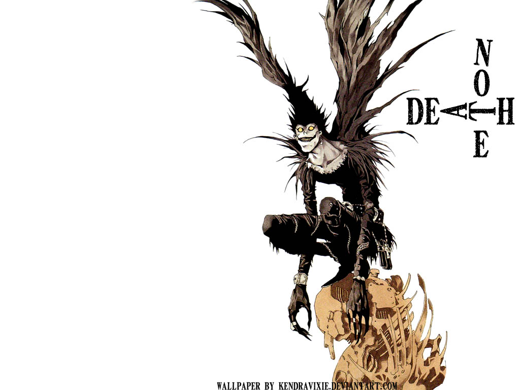 Death Note Ryuk Wallpaper by kendravixie