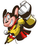 Mighty Mouse/ Super Mouse Fanart
