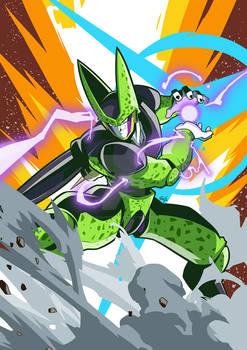 Perfect Cell Dragon Ball Z Fanart