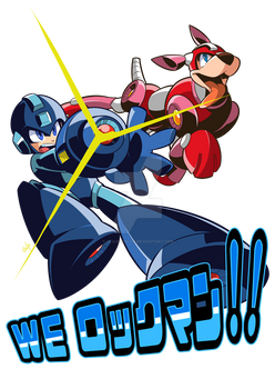 Commission: Megaman Classic