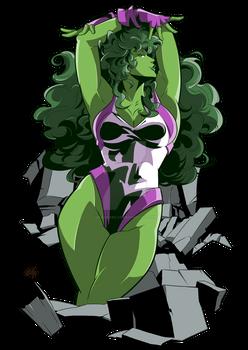 She-Hulk Fanart