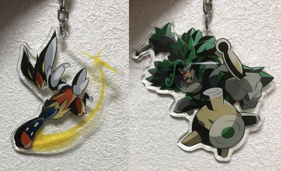 Pokemons keychains