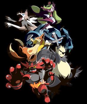 Commission Pokemons