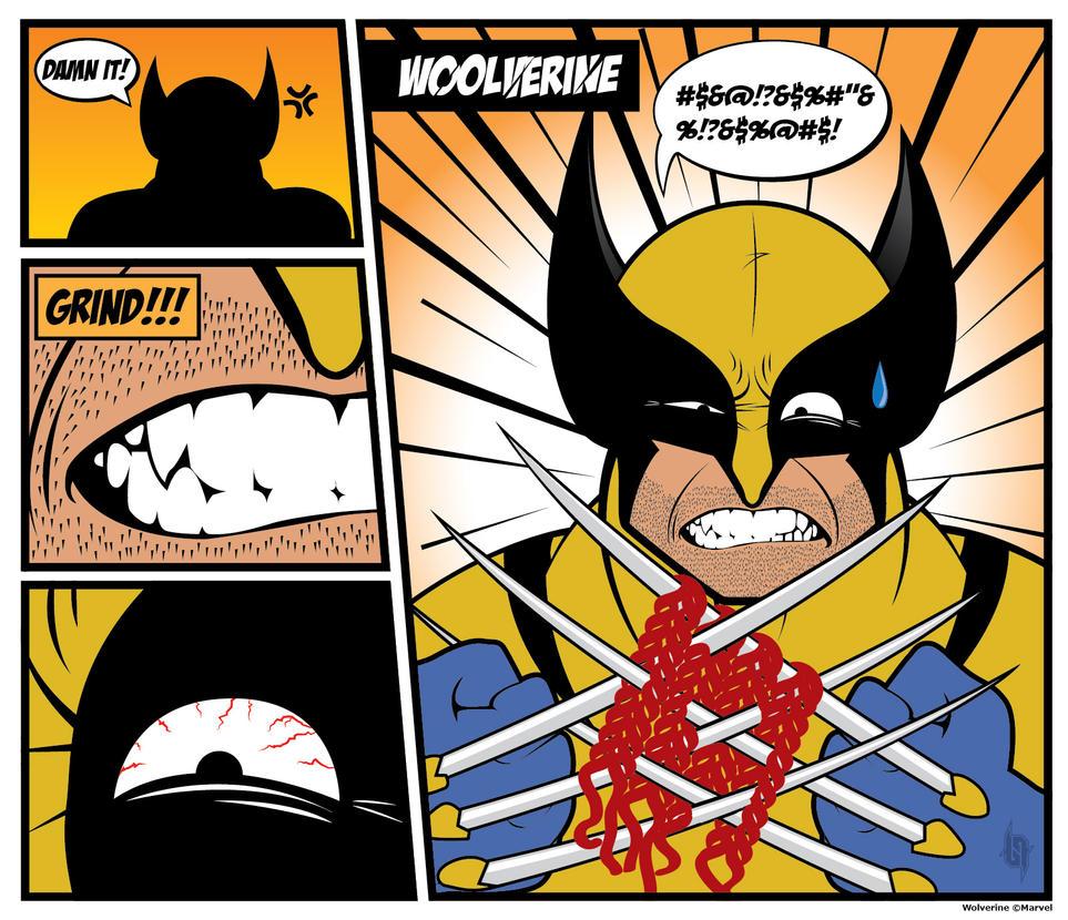 Wolverine by tilq