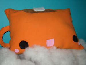 cocomug pillow by patchedpanda