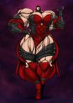 Skarlet, the Seductive Sanguinaire by Clonecamando1471