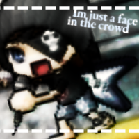 Im just a face in a crowd by MikaMori