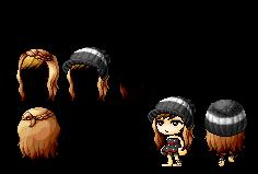 Custom/Mixed hair 4 by MikaMori