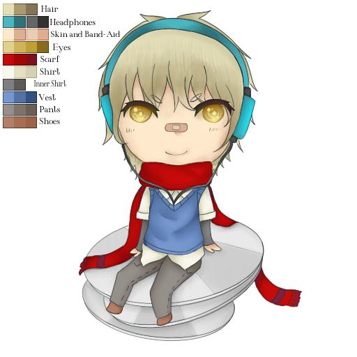Hibik( Original Character ) by MikaMori