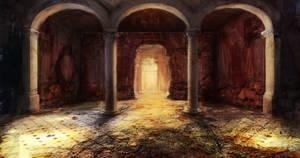 Catacomb Entrance Hall by jordangrimmer