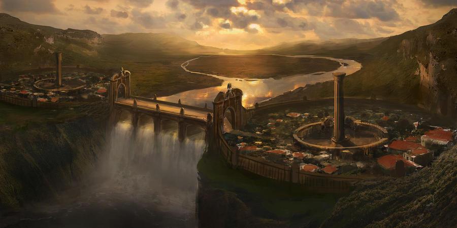 Waterfall City Speedy by jordangrimmer