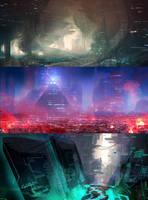 Sci-Fi Speedys by jordangrimmer