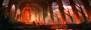 Cathedral of Fire by jordangrimmer
