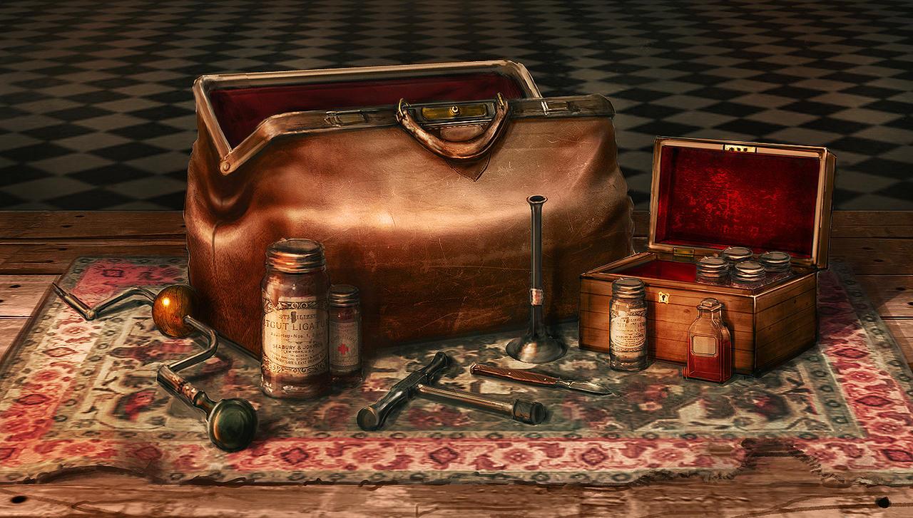 Victorian Doctor S Bag By Jordangrimmer On Deviantart