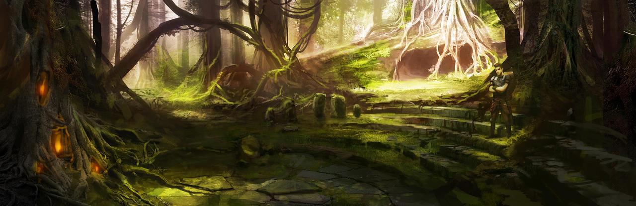 Forest Arena by jordangrimmer